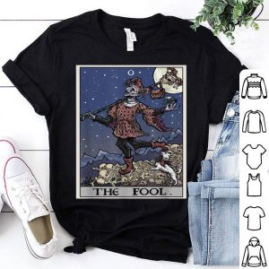 Nice The Fool Tarot Card Halloween Pagan Witch Gothic Tee shirt