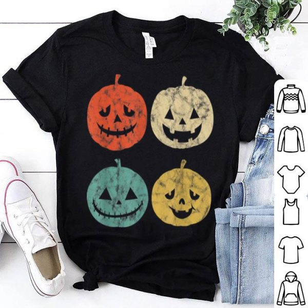 Nice Vintage Pumpkin Funny Pumpkin Halloween Gift shirt