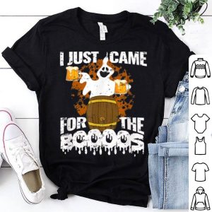 Official I Just Came For The Boos Beer Ghost Halloween Funny Gift shirt