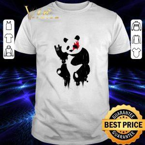 Official Kiss Panda Rock shirt