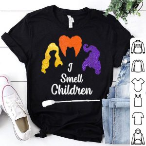Original I Smell Kids Children Halloween Funny Costume Witches shirt