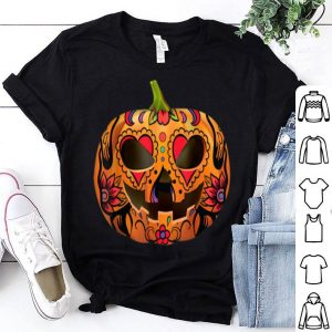 Original Pumpkin Sugar Skull Graphic, Halloween Skull Gifts shirt
