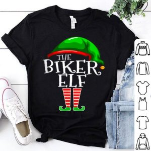 Premium Biker Elf Group Matching Family Christmas Gift Motorcycle shirt