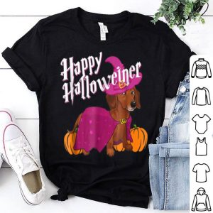 Premium Happy Halloweenie Dachshund Halloween Magical Gift shirt
