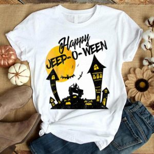 Premium Jeep-O-Ween Jeep Happy Halloween Witch Distressed shirt