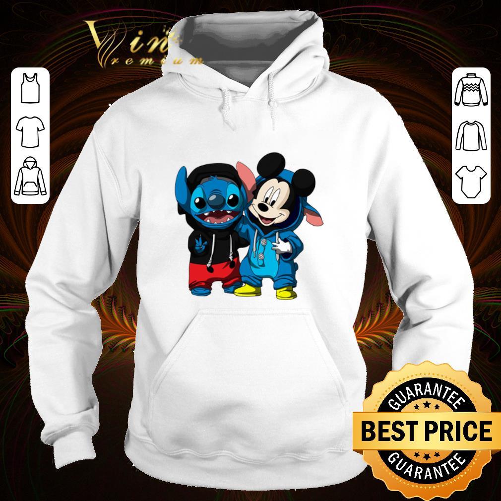 Premium Pretty Baby Mickey and Stitch shirt 4 - Premium Pretty Baby Mickey and Stitch shirt