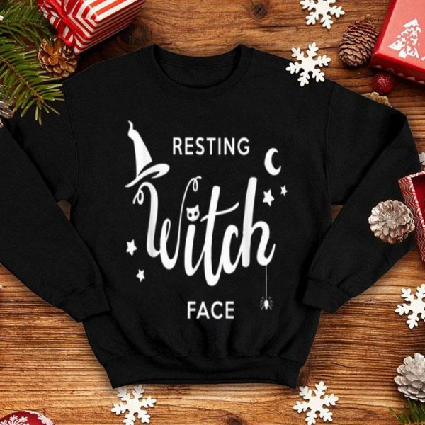 Premium Resting Witch Face Halloween Lover Gift shirt