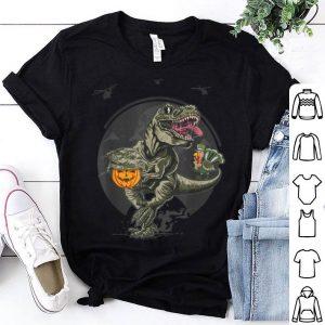 Premium Thanksgiving T-Rex Army - Dinosaur Turkey Pumpkin Gift shirt