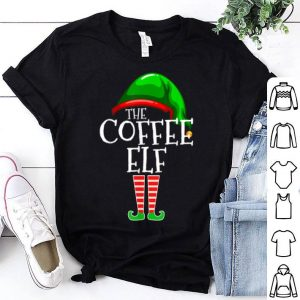Premium The Coffee Elf Group Matching Family Christmas Gifts Funny shirt