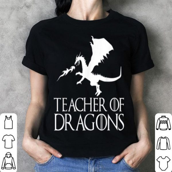 Top Teacher of Dragons - Funny Halloween Costume Gift shirt