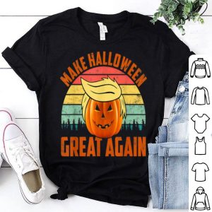 Top Trumpkin Make Halloween Great Again Vintage Funny Trump shirt