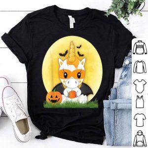Top Unicorn Cute Halloween Trick or Treat Pumpkin Patch shirt
