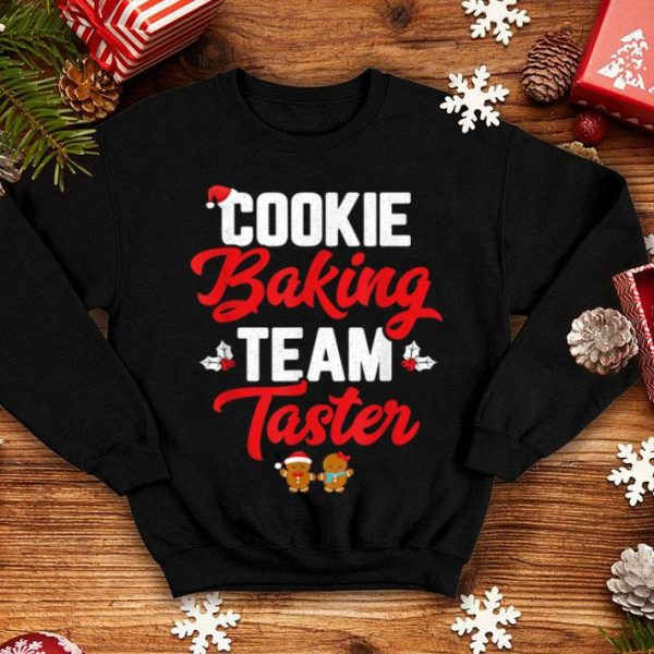 Awesome Cookie Baking Team Taster Matching Family Christmas sweater