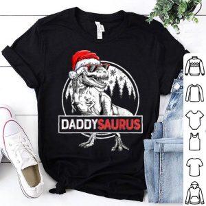 Awesome Daddysaurus Dinosaur Christmas Pajamas T rex Family shirt