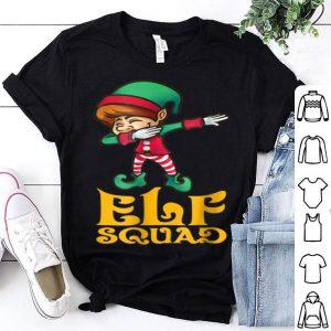 Awesome Elf Squad Dabbing Elf Xmas Elves Christmas PJ Gift shirt