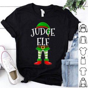 Awesome Judge Elf Matching Family Christmas Gift design shirt