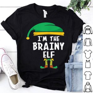 Beautiful I'm The Brainy Elf Matching Family Group Christmas shirt