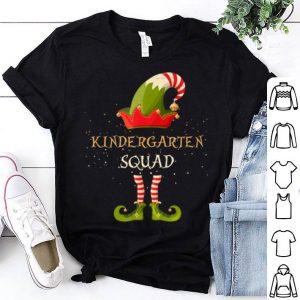 Beautiful Kindergarten Squad Christmas Xmas ELF Teacher School shirt
