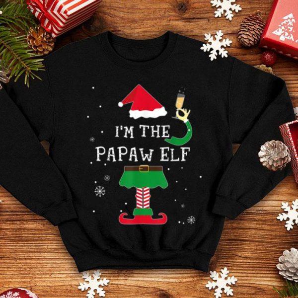 Beautiful Papaw Elf Christmas Pajamas Elves Gifts shirt