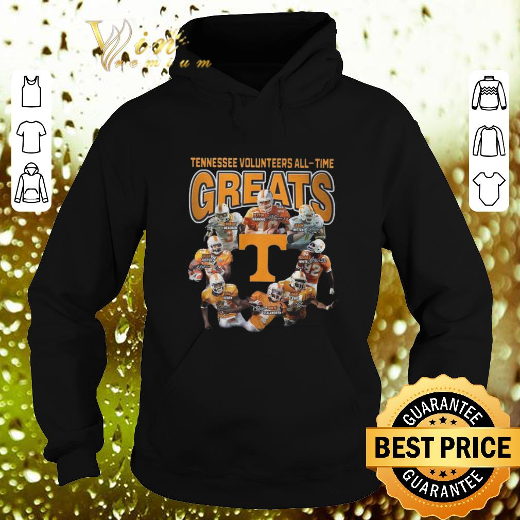Cool Tennessee Volunteers all time greats signatures shirt 4 - Cool Tennessee Volunteers all-time greats signatures shirt