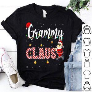 Hot Cute Christmas Grammy Santa Hat Gift Matching Family Xmas shirt