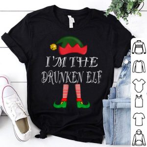 Hot Elf Matching Christmas Pajamas Family Outfits Drunken Elf shirt