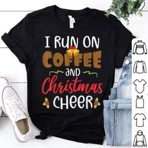 Hot I Run On Coffee And x-mas Cheer Merry Christmas sweater