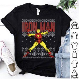 Hot Marvel Iron Man Ugly Christmas Sweater Graphic shirt