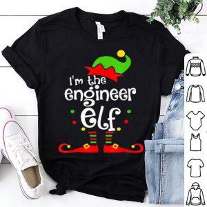 Nice I'm The Engineer ELF Christmas Xmas Funny Matching Family sweater