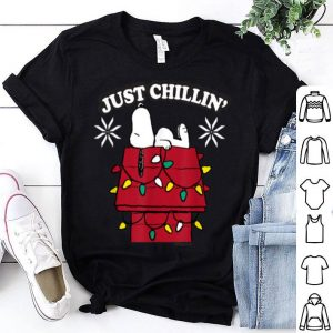 Nice Peanuts Snoopy Dog House Chillin Christmas shirt