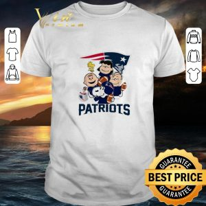 Nice Peanuts characters New England Patriots Snoopy Charlie Brown shirt