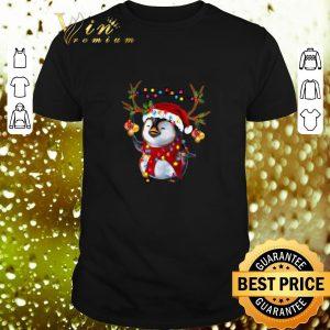 Nice Santa Penguin Reindeer Christmas shirt