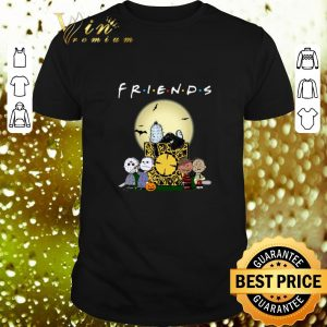 Nice The Peanuts style Horror Movie Friends shirt