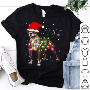 Official Christmas Lights American BullDog shirt