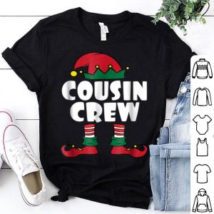 Official Cousin Crew - Elf - Family Matching Christmas Pajamas sweater