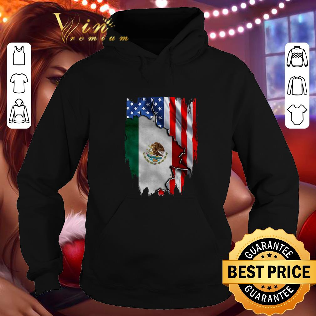 Official Flag American and Mexico shirt 4 - Official Flag American and Mexico shirt