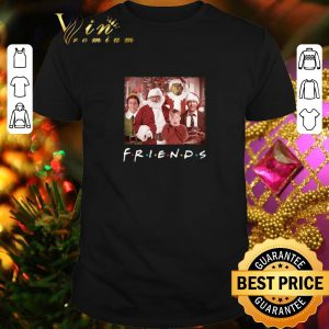Official Friends Grinch Elf Santa Clark Griswold Kevin Characters Christmas shirt