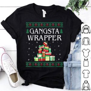 Official Gangsta Wrapper Ugly Sweater Christmas sweater
