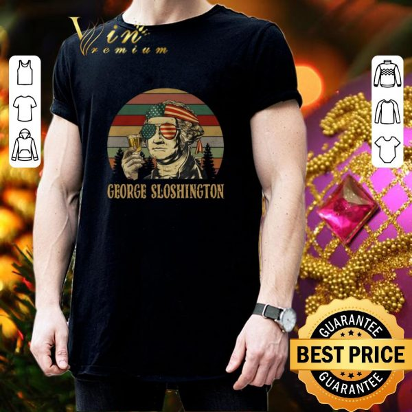 Official George Washington George Sloshington sunset shirt