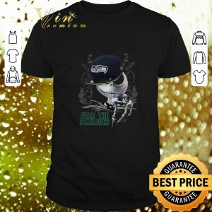 Official Jack Skellington Fear The Seahawks shirt