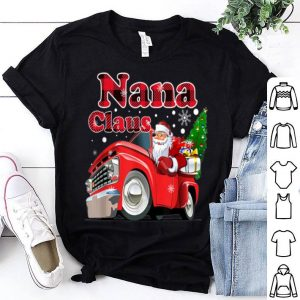Official Nana Claus Truck Christmas Gift shirt