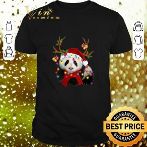 Official Panda Reindeer Christmas shirt