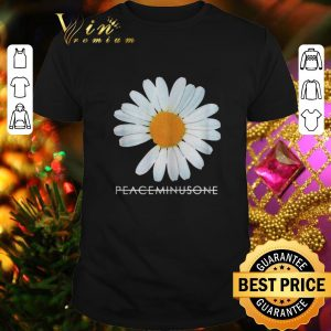 Official Peaceminusone white flower shirt