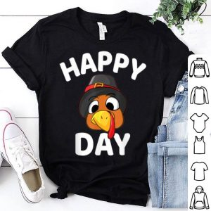 Original Happy Thanksgiving Day Funny Turkey Face Holiday Print shirt