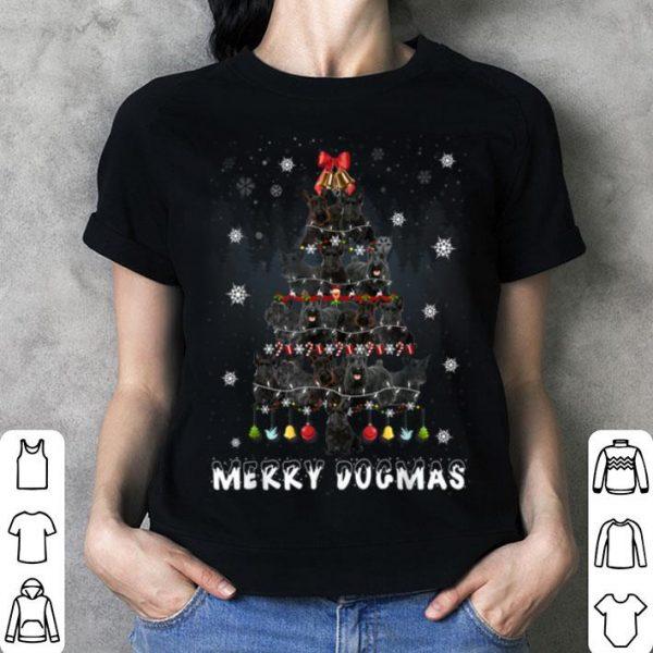 Original Merry Dogmas Scottish Terrier dog Christmas decor Xmas tree sweater