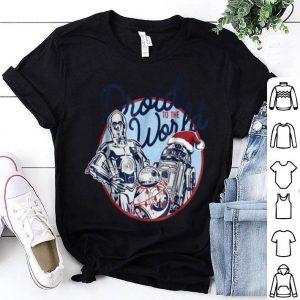 Original Star Wars Droid To The World Christmas Spirit shirt