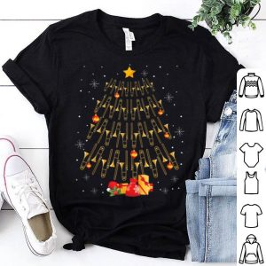 Premium Funny Christmas Trombone Player Gifts Xmas Tree shirt