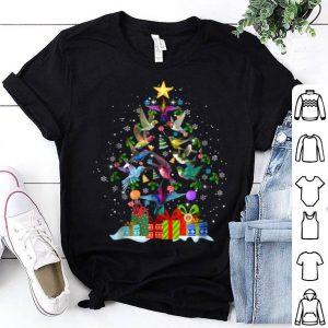 Premium Hummingbirds Christmas Tree Gorgeous shirt