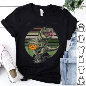 Premium Thanksgiving Dinosaur Military T-Rex Pumpkin Gift shirt