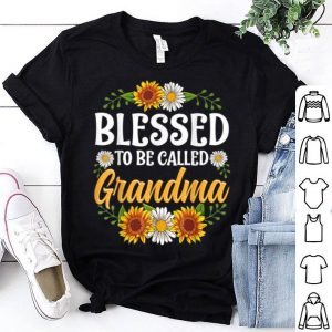 Pretty Blessed To Be Called Grandma Christmas Thanksgiving shirt